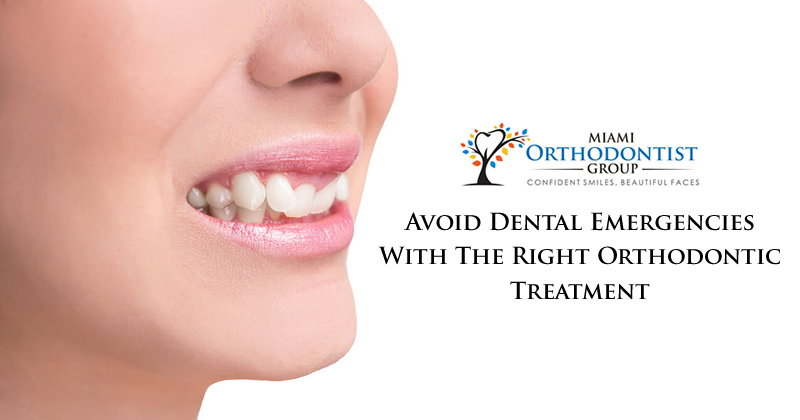 Avoid Dental Emergencies with the Right Orthodontic Treatment