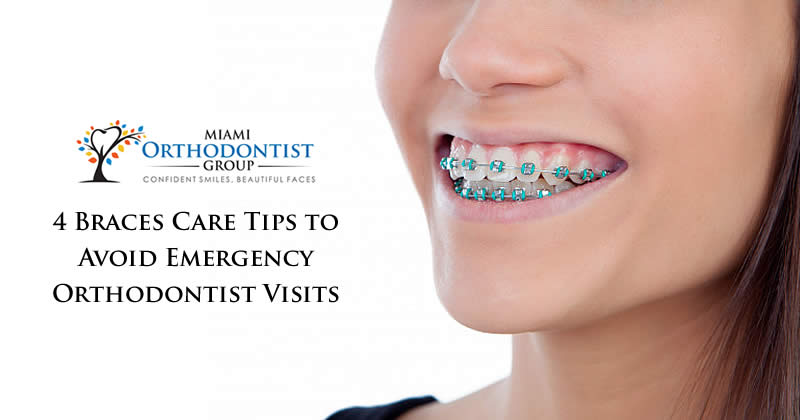 4 Braces Care Tips to Avoid Emergency Orthodontist Visits