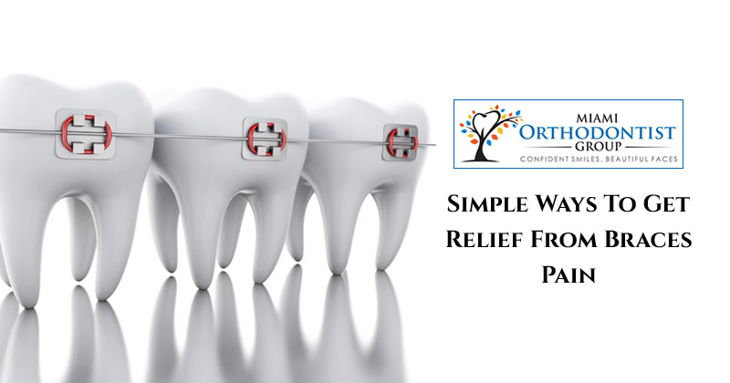 Simple Ways To Get Relief from Braces Pain