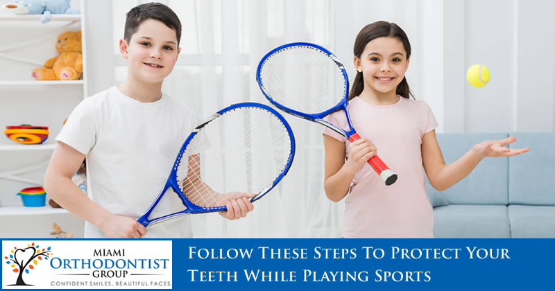Follow These Steps to Protect your Teeth while Playing Sports