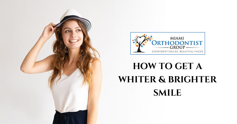 How to get a whiter & brighter smile